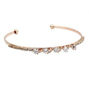 Disposition wave little crystal bracelet